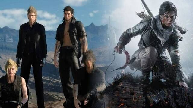 Habrá una colaboración entre Final Fantasy XV y Shadow of the Tomb Raider
