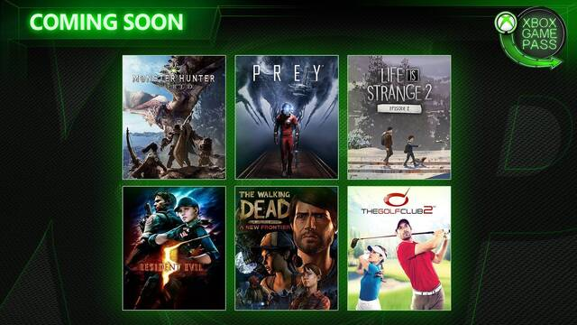 Xbox Game Pass: Monster Hunter World, Prey y Resident Evil 5 llegarán al servicio