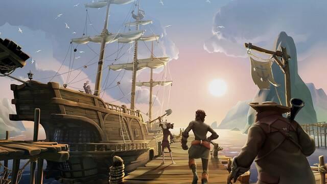 Sea of Thieves añadirá múltiple contenido con su actualización de aniversario