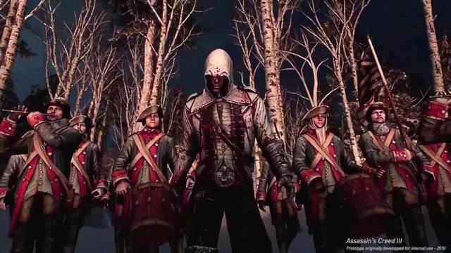 Así era el espectacular prototipo de Assassin's Creed III en 2010