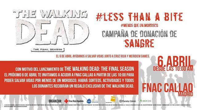 The Walking Dead anuncia una campaña solidaria de donación de sangre