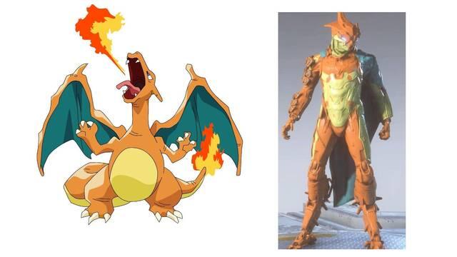 Los jugadores de Anthem comienzan a personalizar sus Alabardas como Pokémon