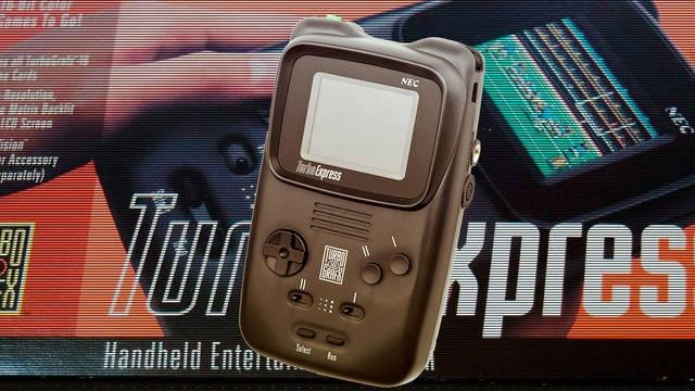 Así era la Turbo Express, la olvidada primera rival de Game Boy