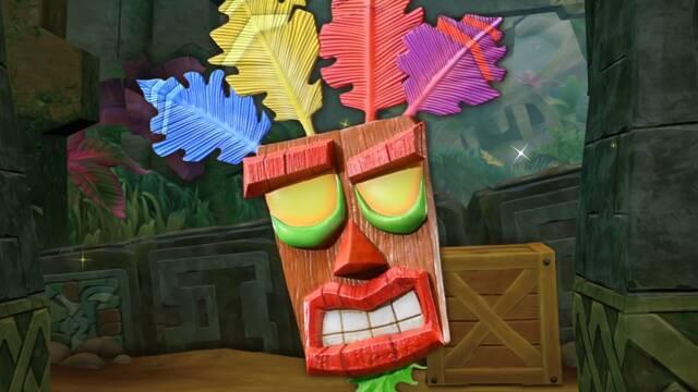 First 4 Figures anuncia una nueva figura de Aku Aku, de Crash Bandicoot