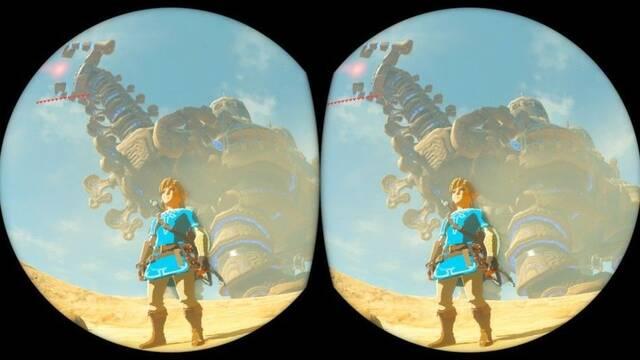 Detalladas las características de Zelda: Breath of the Wild en realidad virtual