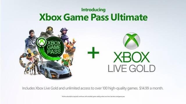 Anunciado Xbox Game Pass Ultimate: Xbox Live Gold + Game Pass por 14,99 € al mes