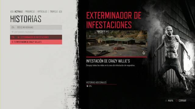 Days Gone: Cómo completar Exterminador de infestaciones al 100% y secretos