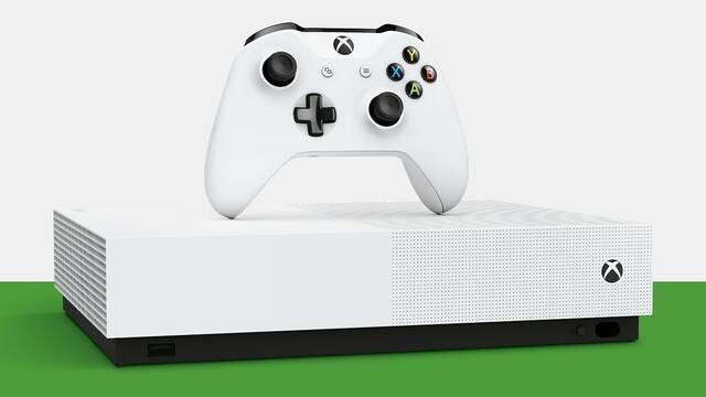 Oficial: Xbox One S All-Digital Edition, sin lector de discos, llega el 7 de mayo