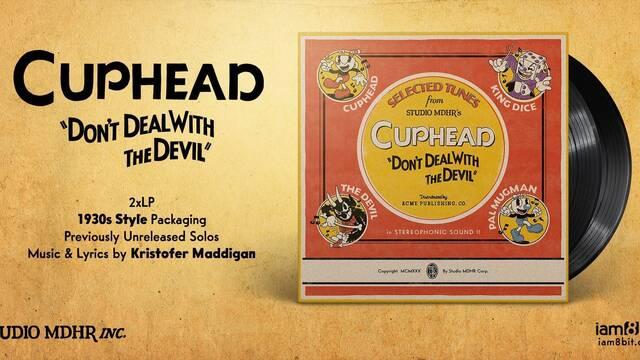 Iam8bit presenta la banda sonora en doble LP de Cuphead