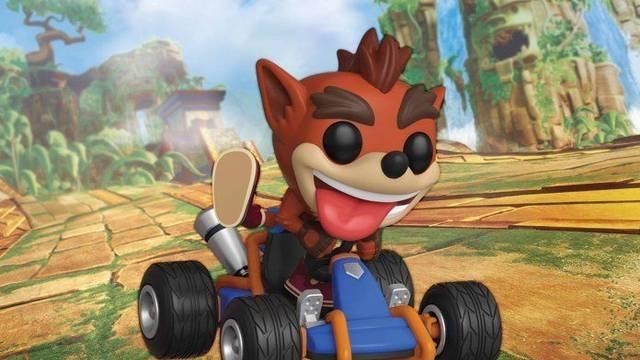 Funko tendrá su propia figura de Crash Team Racing Nitro-Fueled