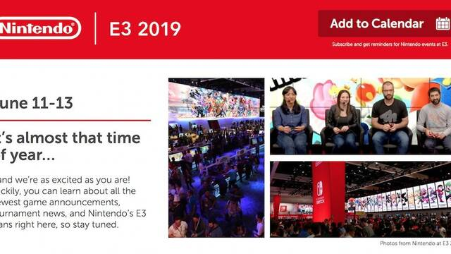 Nintendo presenta algunas de sus actividades y torneos para el E3 2019