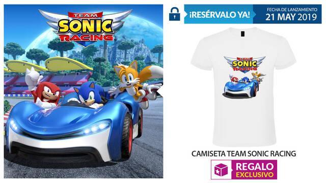 GAME detalla su incentivo por reserva para Team Sonic Racing