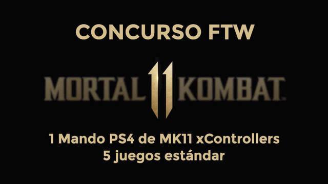Gana con TTDV y Vandal 5 Mortal Kombat 11 y un mando oficial de xControllers