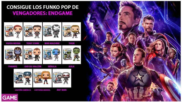 GAME nos prepara para 'Avengers: Endgame' con multitud de merchandising