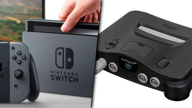 Switch ya habría superado las ventas de Nintendo 64