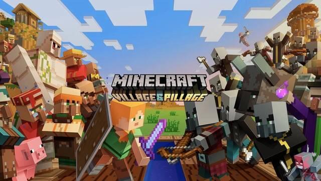 Minecraft recibe la esperada actualización Aldea & Saqueo