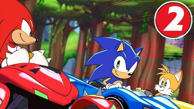 Segundo episodio de Team Sonic Racing Overdrive, la serie animada
