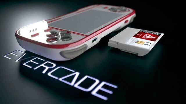 Primeras imágenes de Evercade, la consola híbrida con juegos retro