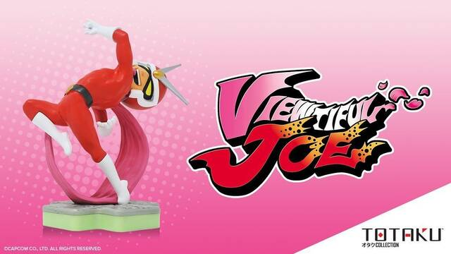 Totaku anuncia una figura coleccionable de Viewtiful Joe