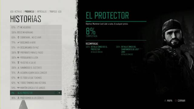 Days Gone: Cómo completar El protector al 100% y secretos