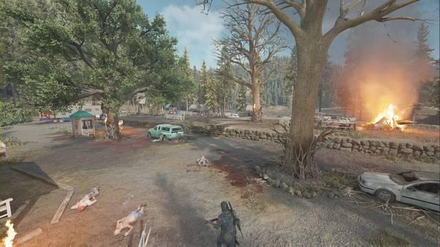 Days Gone: Campamento de emboscadores de Redwood al 100% y secretos