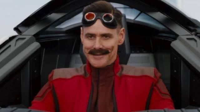 Se filtra la imagen de Jim Carrey como Robotnik en la película de Sonic