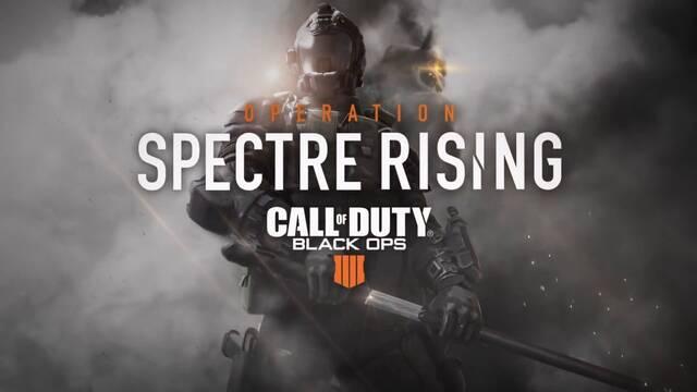 Call of Duty: Black Ops 4 presenta su contenido Operation Spectre Rising
