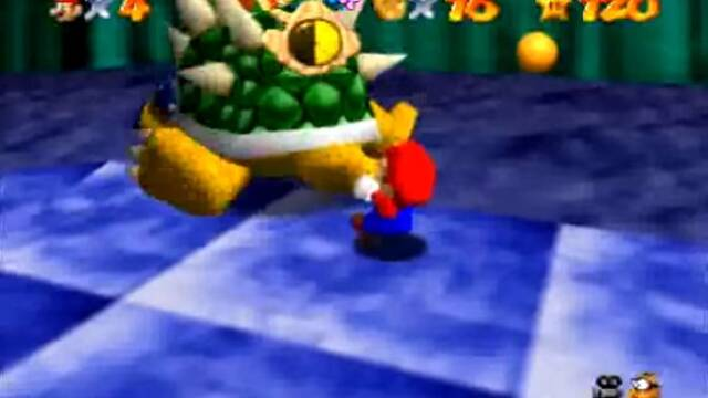 Charles Martinet explica la frase que Mario dice a Bowser en Super Mario 64
