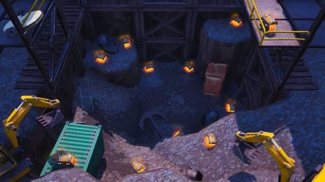 Los jugadores de Fortnite desentierran un ancla en Polvorín Polvoriento