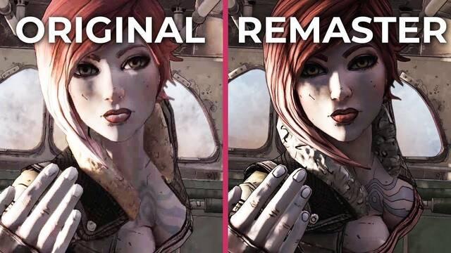 Comparan el Borderlands original con la remasterización Edición Juego del Año