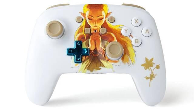 Ya se puede reservar este hermoso mando para Switch de The Legend of Zelda