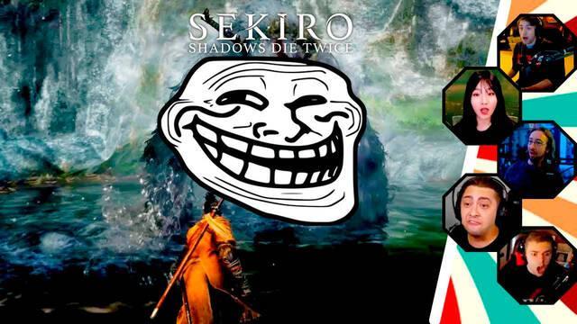 """Sekiro: Así son las divertidas reacciones ante el """"girito"""" de un jefe final"""