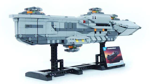 Presentados tres espectaculares figuras de LEGO inspiradas en Homeworld