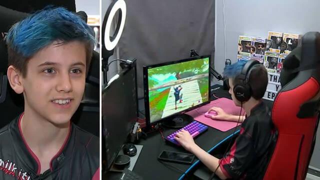 Un niño de 14 años gana 200.000 dólares jugando a Fortnite