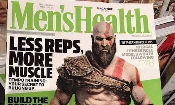 Kratos de God of War es la nueva portada de la revista Men's Health