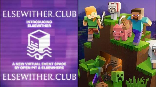 Minecraft y el Club Elsewhere