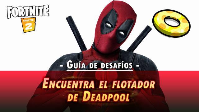 Desafío Fortnite: Encuentra la colchoneta de Deadpool - SOLUCIÓN