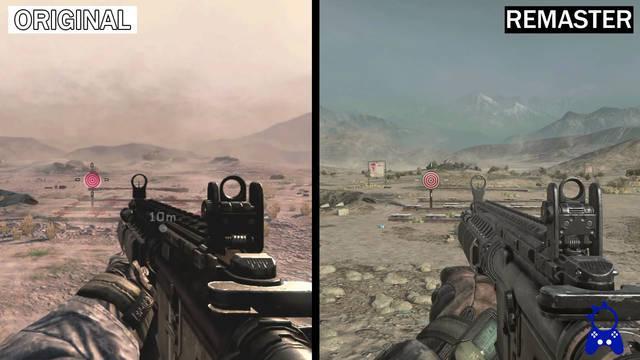 Comparativa Call of Duty: Modern Warfare 2 Remastered: