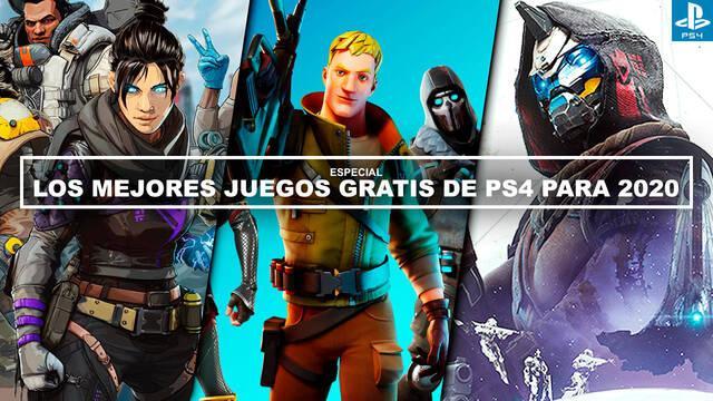 Los MEJORES juegos gratis de PS4 para 2020 - ¡Imprescindibles!