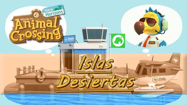 Animal Crossing: New Horizons: Todas las islas desiertas y qué encontrar