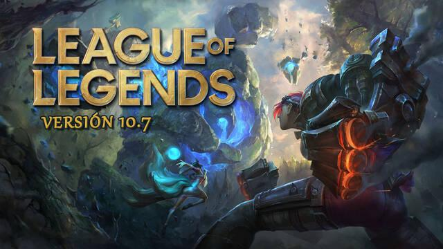 League of Legends V10.7