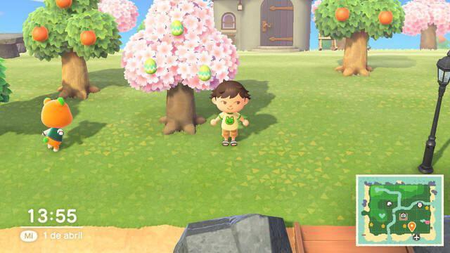 Caza del Huevo en Animal Crossing New Horizons - Tipos de huevos y proyectos de bricolaje