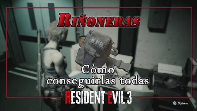 TODAS las riñoneras de Resident Evil 3 Remake y cómo conseguirlas