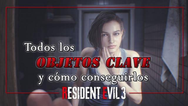 Resident Evil 3 Remake: TODOS los objetos clave y llaves