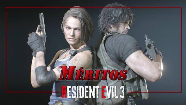 TODOS los Méritos en Resident Evil 3 Remake y cómo completarlos