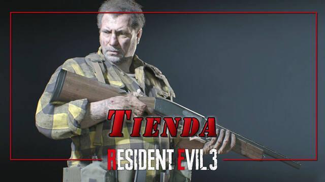 Resident Evil 3 Remake: desbloquear la tienda y recompensas