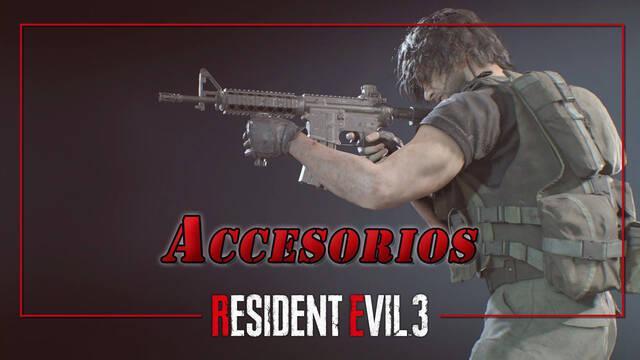 Resident Evil 3 Remake: TODOS los accesorios y modificadores