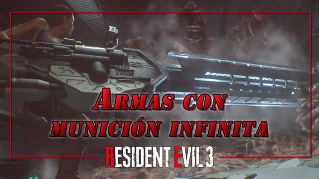 Conseguir armas con munición infinita en Resident Evil 3 Remake