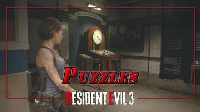 TODOS los puzzles y soluciones de Resident Evil 3 Remake