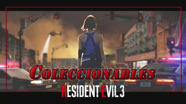 TODOS los coleccionables de Resident Evil 3 Remake - Localización